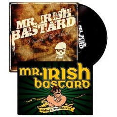 MR. IRISH BASTARD ‎– I Smell The Blood - EP + POSTER - comprar online