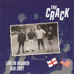 THE CRACK - live in atlanta USA 2001 - CD - Importado!