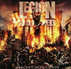 Legion Of The Damned ‎– Descent Into Chaos - CD
