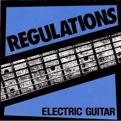 REGULATIONS - electric guitar - CD