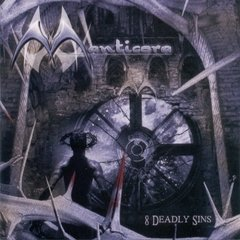 MANTICORA – 8 deadly sins – CD