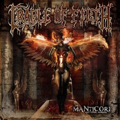 CRADLE OF FILTH - THE MANTICORE AND OTHER HORRORS - DUPLO LP