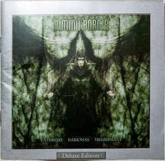 Dimmu Borgir ‎– Enthrone Darkness Triumphant - Deluxe Edition CD - Lacrado!