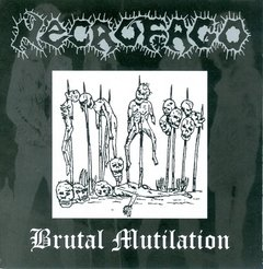NECROFAGO – brutal mutilation – CD