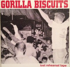 gorilla biscuits - lost rehearsal tape - cd