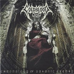 COLDBLOOD – chronology of satanic events – CD