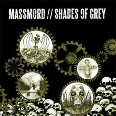 MASSMORD / SHADES OF GREY - Split LP