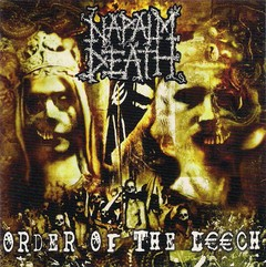 NAPALM DEATH - ORDER OF THE LEECH - LP
