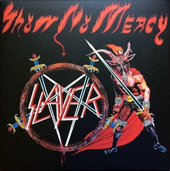 SLAYER - SHOW NO MERCY - LP + POSTER