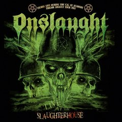 ONSLAUGHT - live at slaughterhouse - CD + DVD