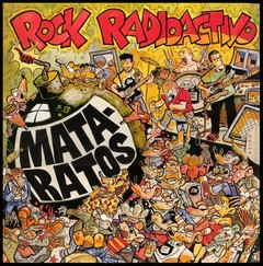 MATA RATOS - rock radioactivo - CD