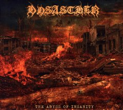 dysasther - the abyss of insanity - digipack cd