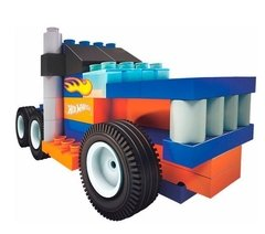 Rasti Hot Wheels Monster Truck 55 Pzas Arma Autos - comprar online