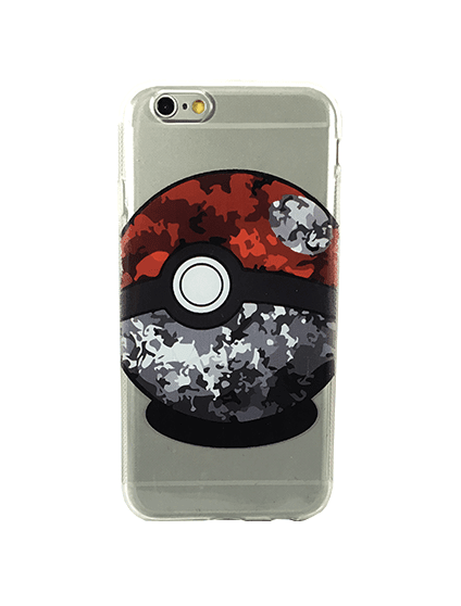 Case Bola do Pokemon para iPhone 6/6s - comprar online