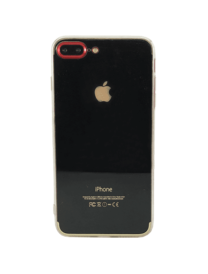 Case Basic Preta Brilhosa para iPhone 7 Plus/ iPhone 8 Plus - comprar online