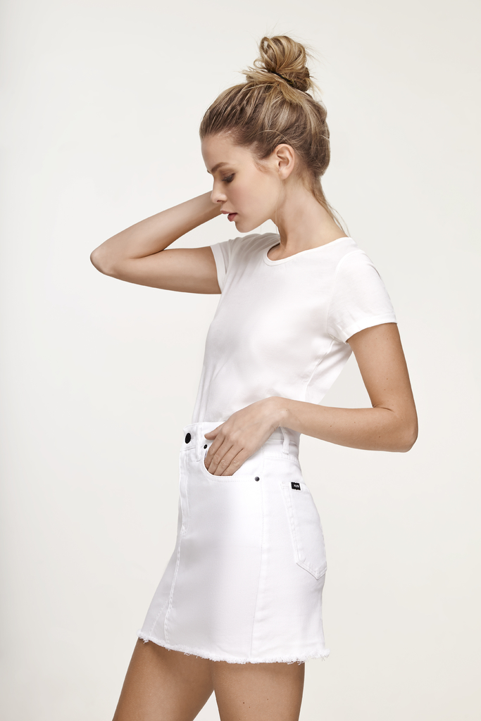 SKIRT TOTAL WHITE