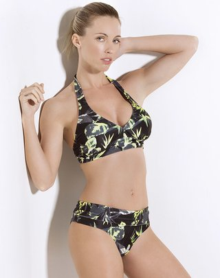 Bikini marilyn estampada con base - Darling