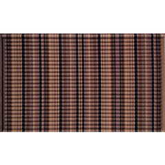 Capacho amigo da natureza Eco-Impressions Brown Stripes