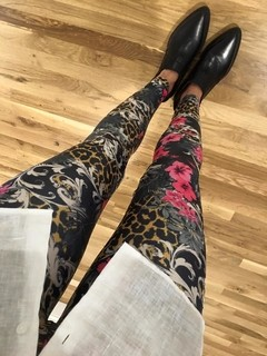 Print Flores Leggings