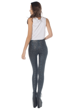 Leopard Hologram Leggings