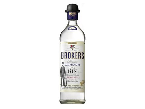 Gin Brokers 750ml