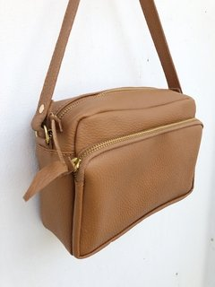 Emma Bag Doble Bolsillo Camel