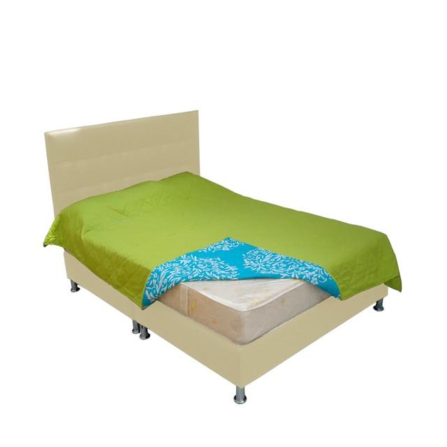 Combo base cama colchon cabecero muebles fantasia for Colchon cama sencilla