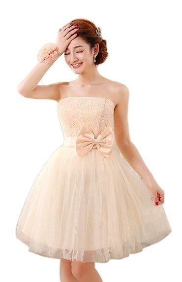 Vestido Festa Debutante 15 Anos curto tomara que caia com renda no corpete 05e70727f9d
