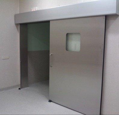 Puerta deslizante acero inoxidable cuben s a for Puertas para cocinas industriales