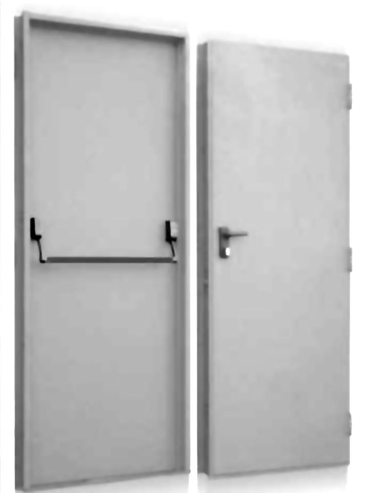 Puerta salida emergencia laboratorio cortafuego f60 for Precio de puertas salida de emergencia