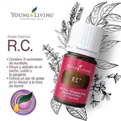 Aceite Esencial Rc 5ml 3 Frascos Young Living