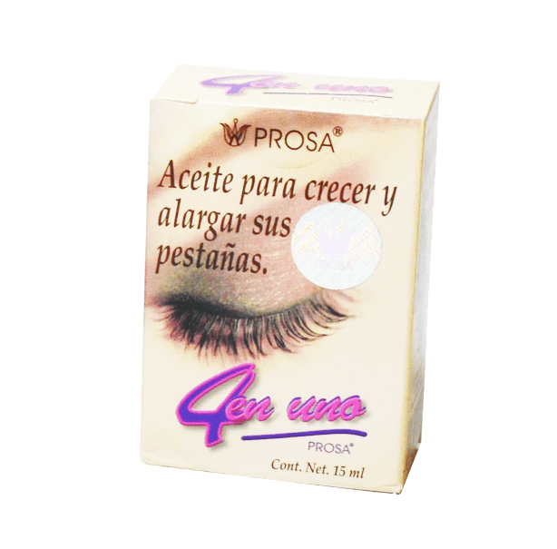 ee3a124d0be OIL 4 IN 1 EYELASHES PROSA, 15ml - Mundo Natural