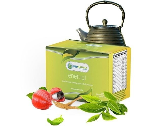 ENERUGI, green tea, guarana