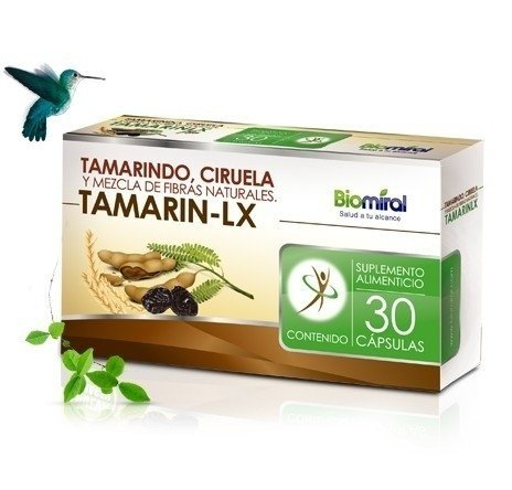 Tamarin Lx 30 Capsules Tamarindo Plum