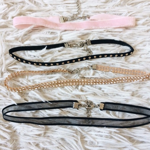Kit 4 Chokers Sweet Rock - comprar online