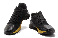 Tênis Under Armour Curry 4 Low Black and Gold IMPORTADO