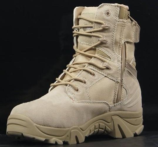 5eabbf7dee Bota Coturno Delta Militar Desert Cano Alto IMPORTADA. 1