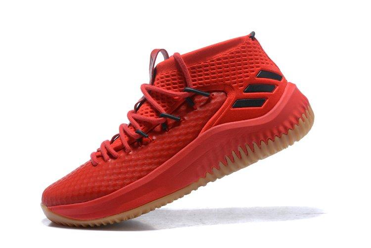 sale retailer daa32 40267 Tênis adidas Dame 4 Red Importado