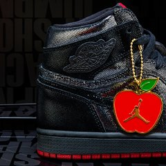 "Imagem do Air Jordan 1 Retro ""SP Gina"""