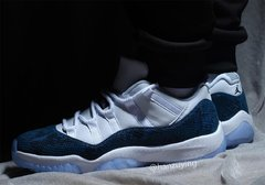 "Air Jordan 11 Low ""Navy Snakeskin"" - comprar online"