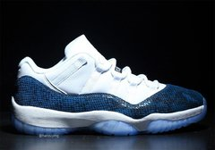 "Air Jordan 11 Low ""Navy Snakeskin"" - PRIME IMPORTADOS"