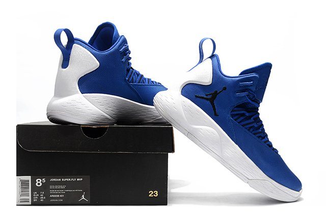 17e81417ff3 Tenis Nike Air Jordan Super.Fly MVP Importado Royal