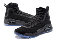 Tênis Under Armour Curry 4 All Black IMPORTADO