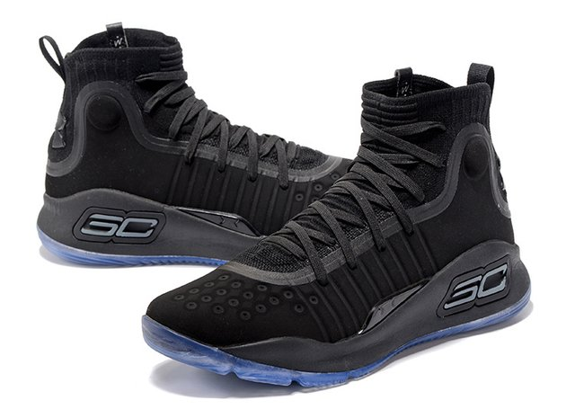 Tênis Under Armour Curry 4 All Black IMPORTADO - comprar online