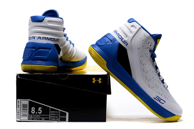 Tênis UNDER ARMOUR CURRY 3 Basquete IMPORTADO - PRIME IMPORTADOS
