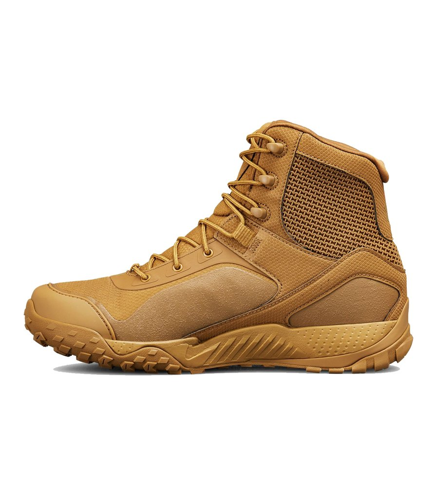 b8df7177a9e1f3 Bota Coturno Under Armour Tactical Valsetz RTS Coyote Brown IMPORTADA