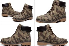 Bota Casual SWAG Hip Hop Estilo Timber Importada Camuflada na internet