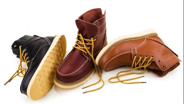 Bota Red Wing Estilo Couro Importada Brogue Wingtip