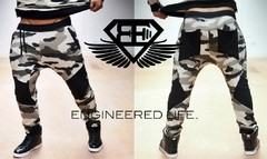 Calça Moleton Body Engineers Camuflada Original Importada Importada
