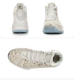 Tênis ANTA Klay Thompson Shoes - White Gold Importado